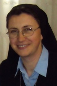 Autorica knjige s. Danijela Anić, ASC